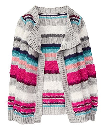 Gymboree Little Girls' Blanket Sweater, Multi, - Cardigan Gymboree Sweater