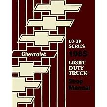 Amazon the g20 books 1985 chevrolet truck pickup repair shop service manual includes 4x2 4x4 ton ton 1 ton trucks blazer suburban motorhome chassis k5 k10 k20 fandeluxe Images