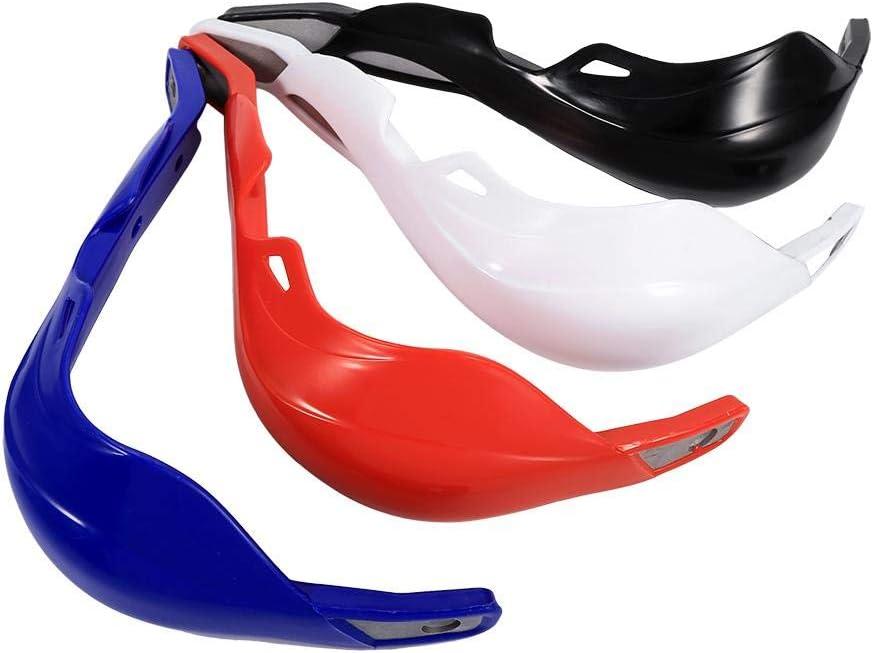 1 Paar 4 Farben Universal Aluminium Alloy Lenker Handschutz Fit f/ür Motorrad Motocross Dirt Bike Motorrad Lenker Schutz rot