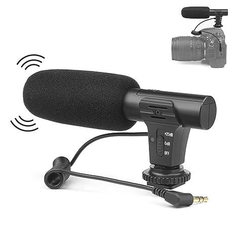 BMG Videocámara Estéreo Micrófono, Cámara Réflex Digital Micrófono ...
