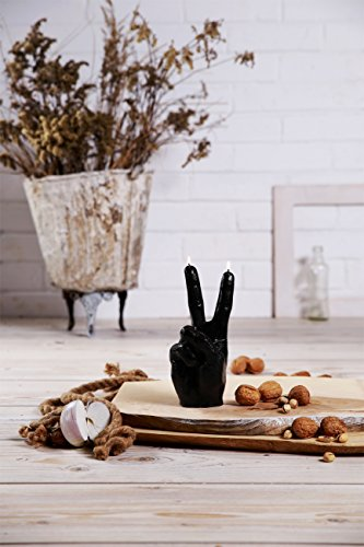 Candellana Candles Peace Candle, Black High Glossy by Candellana Candles (Image #4)