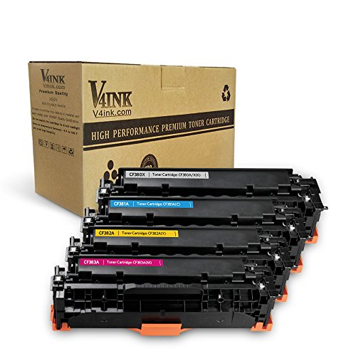 V4INK Cartridges Magenta Replacement LaserJet product image