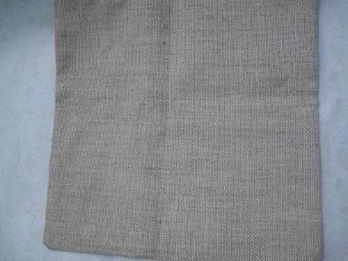 cushion case, cross stitch fabric cushion case ,11 ct linen