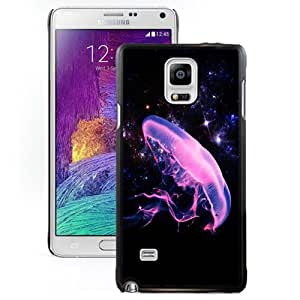 Beautiful Designed Case For Samsung Galaxy Note 4 N910A N910T N910P N910V N910R4 Phone Case With Starry Sky and Jellyfish Phone Case Cover