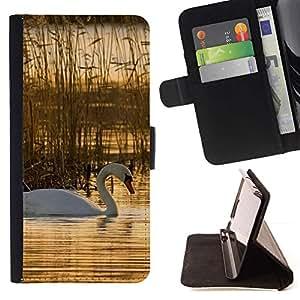 Momo Phone Case / Flip Funda de Cuero Case Cover - Naturaleza Hermosa Forrest Verde 76 - Apple Iphone 6 PLUS 5.5