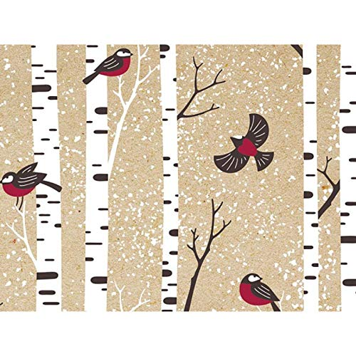Kraft Cardinal Forest 30'' x 150' Gift Wrap Roll