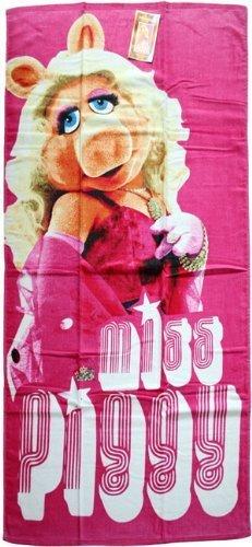 The Muppets 'Miss Piggy' Bath / Beach Towel - Great Gift Idea by Beautifeye