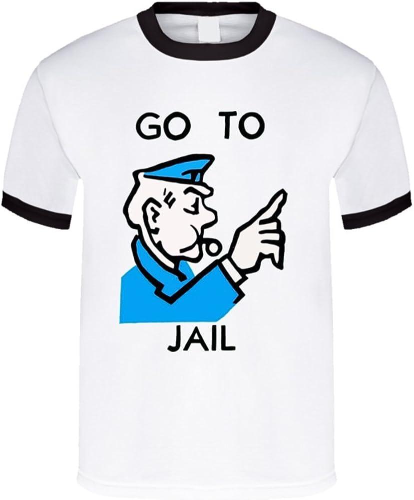 Camiseta Bandit IR a la cárcel Monopolio Logo T Shirt: Amazon.es: Ropa y accesorios
