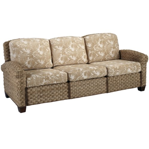 Cabana Banana II  Honey 3-Seat Sofa by Home Styles - Mahogany Three Seat Sofa
