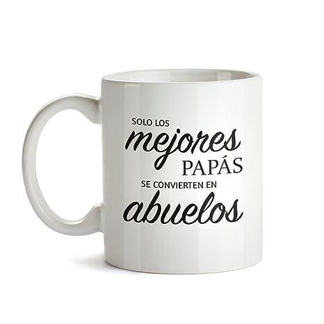 Taza – Taza de Café Blanca con Mensaje – Taza de Graduación para Abuelos – Taza de Café como Regalo del Día del Padre – Regalo Ideal para Abuelos ...