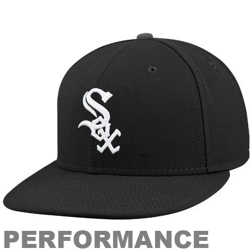 MLB Chicago White Sox Game Youth AC On Field 59Fifty Fitted Cap, Black, 6 (Black 59fifty Youth Fitted Cap)