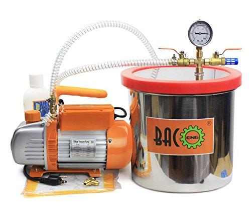 220V 60Hz Single Stage Vacuum Pump - 1