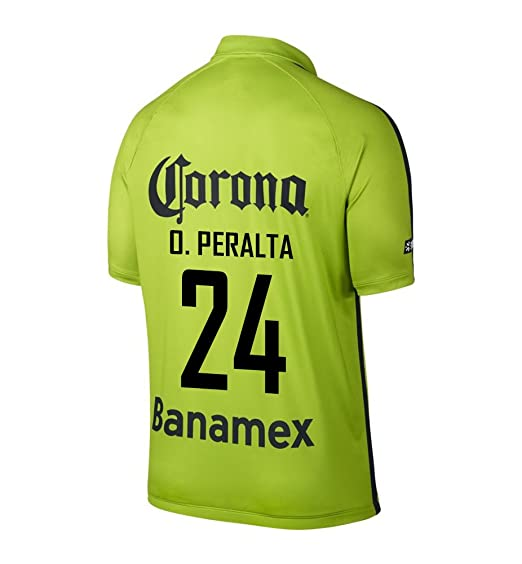 9a1b17fa806 Amazon.com: O. Peralta #24 Club America Third (3rd) Soccer Jersey  (0781171983438): Books