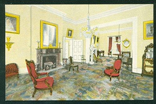 Tn Framed Nashville (Drawing Room President Andrew Jackson General Hermitage Nashville Tennessee TN Interior Postcard)
