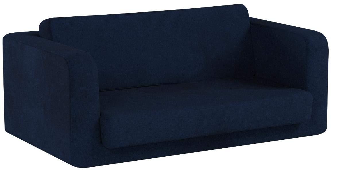 Fun Furnishings 55234 Toddler Flip Sofa, Dark Blue by Fun Furnishings