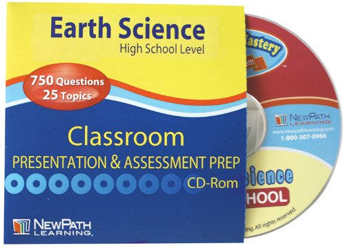 NewPath Learning Earth Science Review Interactive Whiteboard CD-ROM, Site License, High School