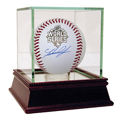 Johnny Cueto Autographed 2015 World Series - Baseball Steiner World Series