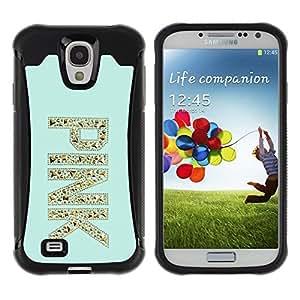 Suave TPU GEL Carcasa Funda Silicona Blando Estuche Caso de protección (para) Samsung Galaxy S4 IV I9500 / CECELL Phone case / / pink gold glitter bling mint green /
