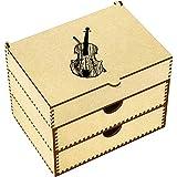 Azeeda 'Violin' Vanity Case / Makeup Box (VC00007886)