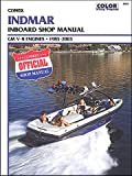 CLYMER MANUAL, INDMAR GM V-8 IB 1983-2003, Manufacturer: CLYMER, Part Number: 274201-AD, VPN: B805-AD, Condition: New