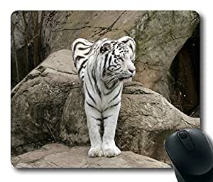 Cool Tiger Masterpiece Limited Design Oblong Mouse Pad by Cases & Mousepads