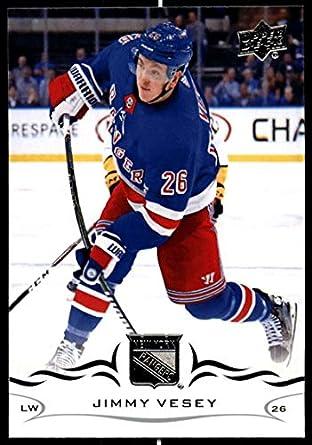 2018-19 Upper Deck Hockey Series Two  378 Jimmy Vesey New York Rangers  Official 8445b0b1b