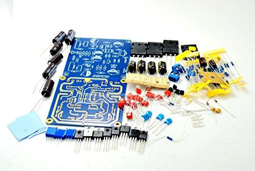 Q-BAIHE DXAMP Dual Channel Amplifier Board Kit 50W 8R DC + - 33V 100W 4R DC + - 33V 2SA1943 2SC5200 Imported high Power Tube 2SA1943 2SC5200