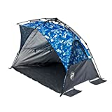 Cheap E-Z UP Inc. WT8CB Wedge Portable Beach Sun Shade Canopy, Camo Blue