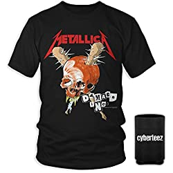 Metallica Damage Inc Skull Tour 1986 T-Shirt + Coolie (2XL)