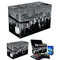 Law & Order: The Complete Series (Seasons 1-20 Bundle) DVD