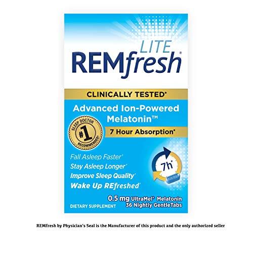 REMfresh 0 5mg Advanced Ion Powered Melatonin product image