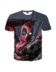 CSQC156 deadpool T-shirt Tee Top Men Fashion Casual