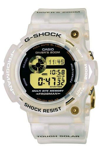 Casio Midsize GW225E-7 G-Shock Limited Edition White Solar Digital Watch ()