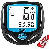 DINOKA Bike Speedometer Waterproof Wireless...