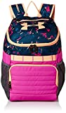 Under Armour Unisex Kids' Large Fry Backpack, Peach Horizon (906)/Fluo Fuchsia, One Size
