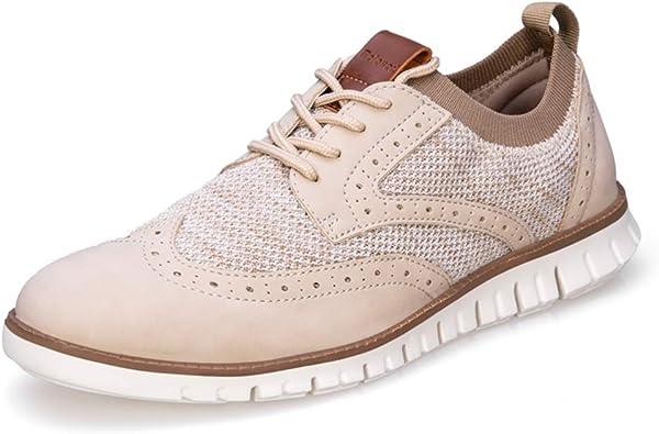 Men's Oxford Shoes Wingtip Lace up