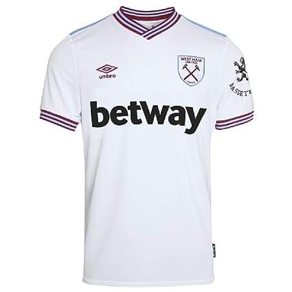 /Camiseta de West Ham SPN Jersey de Umbro/