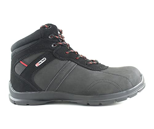4walk - Liberator s3 - Botas de Seguridad - Talla 36 - Negro