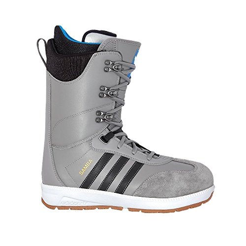 Adidas Samba ADV Snowboardschuh Herren Charcoal Solid Grey / Core Schwarz / Schuhe Weiß