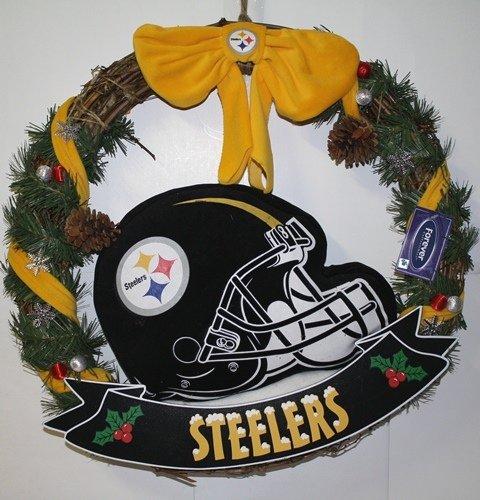 Nfl Wreath (Pittsburgh Steelers 20