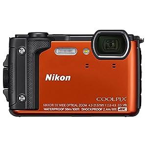 Nikon COOLPIX W300 16MP 4k Ultra HD Waterproof Digital Camera + 32GB Memory & Flash Deluxe Accessory Bundle by Nikon