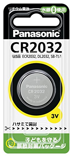 Matsushita pilot lithium battery (Matsushita Electronics)