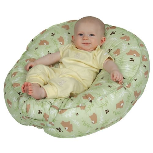 Pattern Sling Infant (Leachco Podster Sling-Style Infant Seat Lounger, Green Bear)