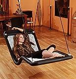 Relax-Schaukel - DreamlinerPlus XL (extra lang & breit) / Maße: 190 x 76 x 80 cm / Gewicht: 13 kg / Farbe: schwarz