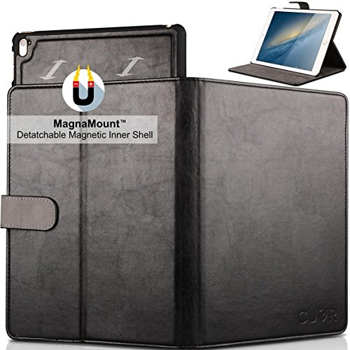 separation shoes 3de1e a90e8 Cuvr iPad Pro 9.7 Case with MagnaMount(TM) - Converts From Luxury Folio  Cover to Light Handheld Shell in an Instant!