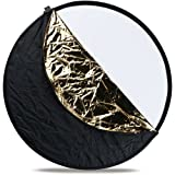 Westcott 308 50-Inch 5-In-1 Reflector (Black)