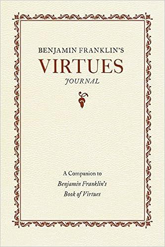 Image result for franklin's virtues
