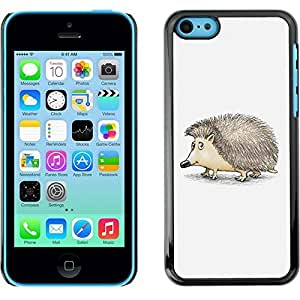Hard Protective Case Cover for Apple iphone 6 4.7 / Cute Friendly Hedgehog