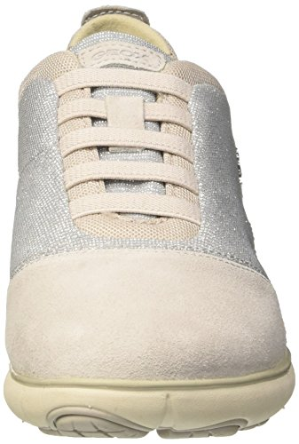 Geox Argent D Nebula G Femmes Baskets Off Gris Whitec1121 YqYOr