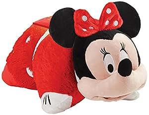 pillow pets disney minnie mouse dream lite rockin the dots minnie mouse plush. Black Bedroom Furniture Sets. Home Design Ideas